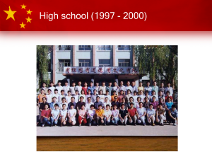 The Chinese Education System – Part 2: Middle & High School and the Gaokao